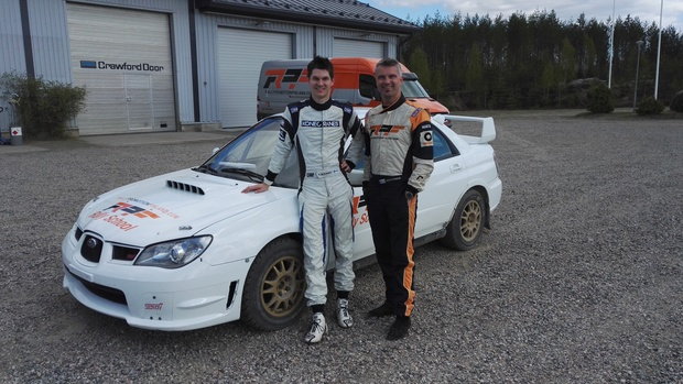 Jarkko and Teemu, Rally School